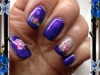 Vernis permanent night out glitter et water decal